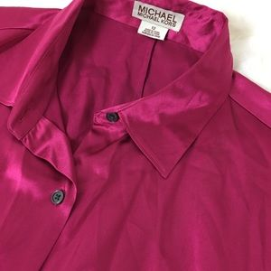 MICHAEL KORS Longsleeves Blouse 12""